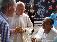Visit of Christian meditators to Pre Life Society